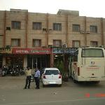front view of hotel ratandeep