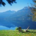 View of Slocan Lake