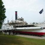  SS Ticonderoga (Shelburne Museum)