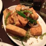  spicy salt and chilli pepper tofu