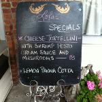 superb special of the day