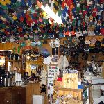  Toad River Lodge - Thousands of hats!