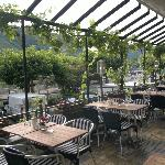 Dining Terrace overlooking the River Mosel