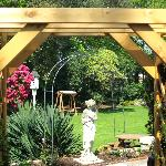 Here is a view of our loverly garden