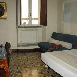 our room at the Palazzo del Duca