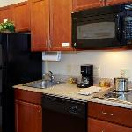 All of our Suites have fully equipped kitchens.