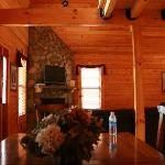 Living/Dining area of cabin