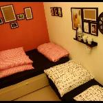 Standard Double Bed + Single Bed B
