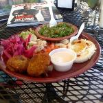 Falafel plate