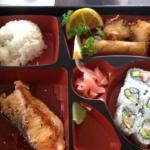 Salmon Bento Lunch Special