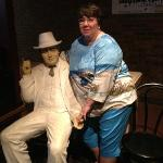 Me and Al Capone hanging out!