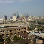 The beautiful Philly Skyline from Room 1703