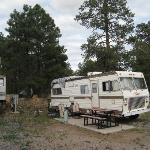 "Black Bart's ""RV - Trailer Park"" Flagstaff, AZ - The View We Had"
