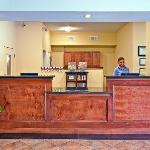 Front Desk at candlewood suites.