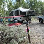 our site in Gros Ventre
