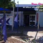 Whaleshark Booking Office is located on the corner of Thew and Kinnedy St,