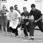 Our Champion Chef & Dining Room Staff, Carnival Waiters Race