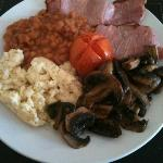 My choice for a cooked breakfast. Very generous portions