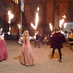 Lords & Ladies dancing in the castle