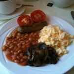 A hearty and tasty English breakfast everyday!