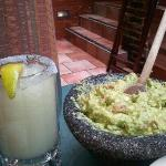 Margartia and tableside Guacamole...it doesn't get much better than this! Mmmmm..
