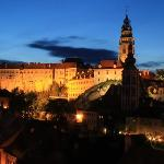 The Castle at night, Cesky Krumlov
