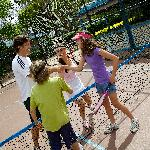 Shoal Bay Holiday Park Tennis / Basketball Court (half size)
