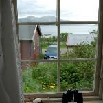  A view from the cottage window