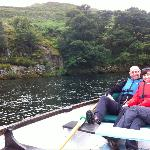 Ullswater by boat