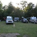 Sites at Hadley Point Campground