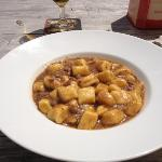 gnocchetti di patate con rag di cervo
