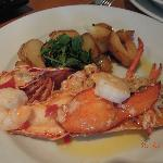  lobster with prawns