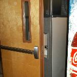  Explain to me how you get ice when the door is locked open like this