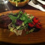  fillet steak - well presented