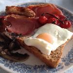 A real breakfast cooked on the AGA
