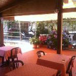 Locanda di Marco - Covered terrace for brakfast and dinner