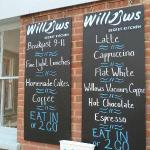 Willows Menu Times