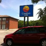 Comfort Inn Pickering Ontario.