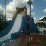  Water Slide at the Pool Area