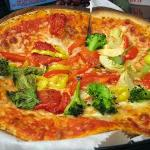  Pizza - thin crust, fresh sauce, as healthy as you like it!