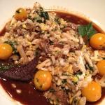 oxtail risotto - tender, delicious, rich flavors