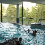 Hotel's panorama spa with indoor swimming pools