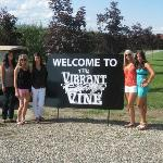  Such a fun winery! Vibrant Vines :)