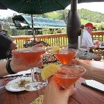  Cheers!  Speciality drinks are always fun on vacation.