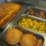 picture of food offered at Singh's