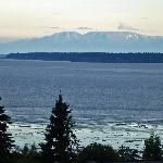  mt susitna from balcony of accom