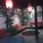  petit coin cosy sur la terrasse