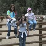 My girls & I waiting on our rides. Amazing trails, Ranchers were Super! 6.2012