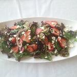  August Feature Strawberry Salad