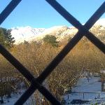 Winter view from the red room - L'orto dei semplici M.te Etna Park organic farm/rural tourism